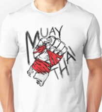 Muay Thai Fist Shirt T-Shirt