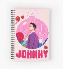 NCT 127 Johnny Cherry Bomb Spiral Notebook