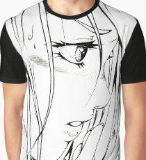 Anaë sous la pluie T-shirt graphique