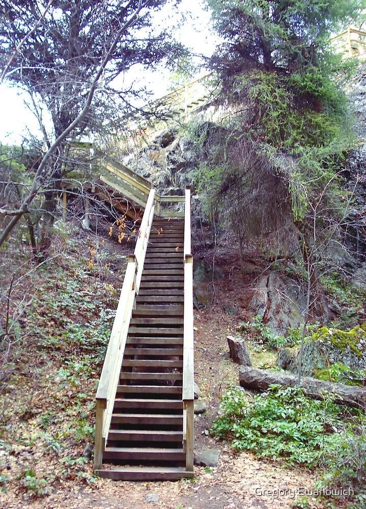 Stairway To Heaven? by Gregory Ewanowich