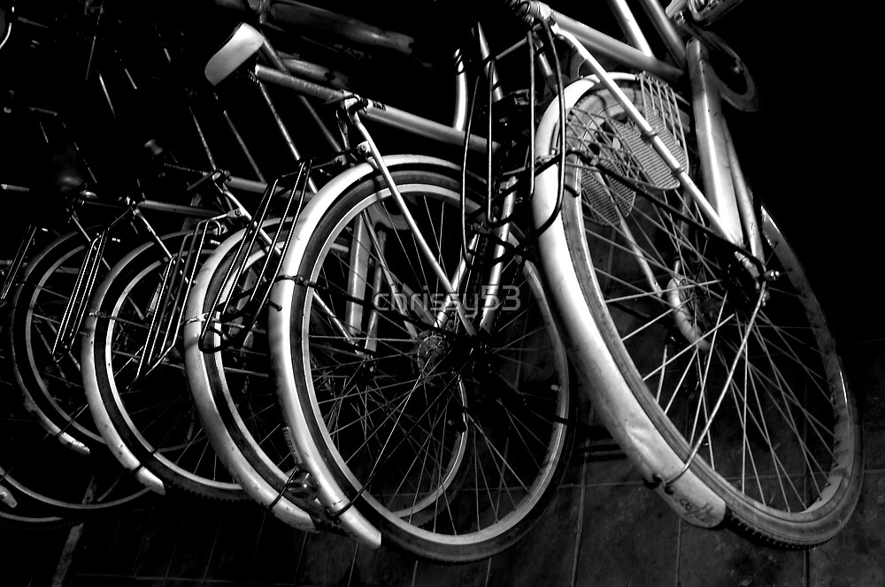 Bicycles by chrissy53