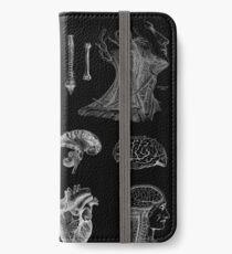 Vintage Anatomy Print  iPhone Wallet/Case/Skin