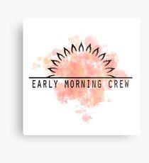 The Early Morning Crew Metal Print