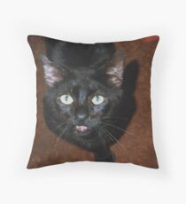 Blacktop Throw Pillow