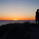 Lovers Sunset by Diane  Marie Kramer