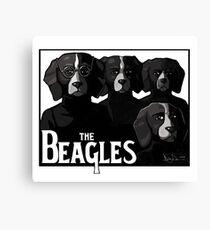 The Beagles Canvas Print