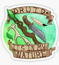 Es ist in meiner Natur Sticker