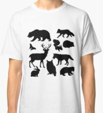 Animal Collage 4  Classic T-Shirt
