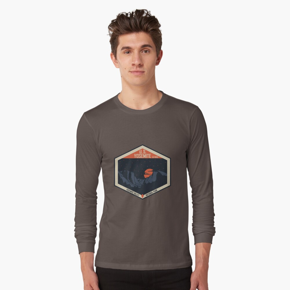Yosemite Nationalpark Langarmshirt