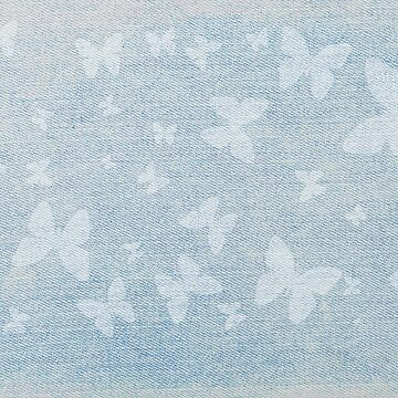 Butterflies On Faded Denim by dianecmcac