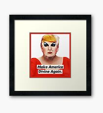 Make America Divine Again Framed Print