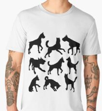 Animal Collage 6 Men's Premium T-Shirt