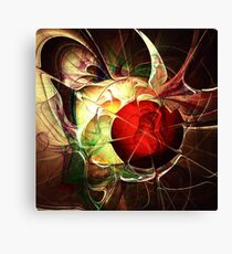 Incoming Bullet Canvas Print