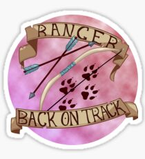 Back On Track Sticker