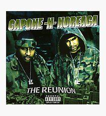 Capone and Noreaga The Reunion Cover Art  Design Supreme Photographic Print