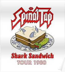 Spinal Tap - Shark Sandwich Tour 1980 Poster
