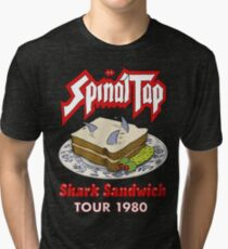 Spinal Tap - Shark Sandwich Tour 1980 Tri-blend T-Shirt