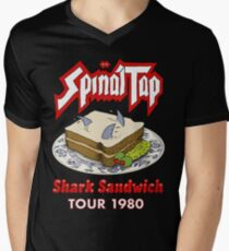 Spinal Tap - Shark Sandwich Tour 1980 Men's V-Neck T-Shirt