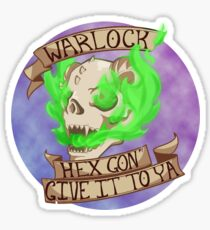 Hex Gon' Give It To Ya Sticker