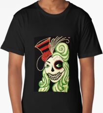 Rosanna of the Dead Pin Up Girl! Long T-Shirt