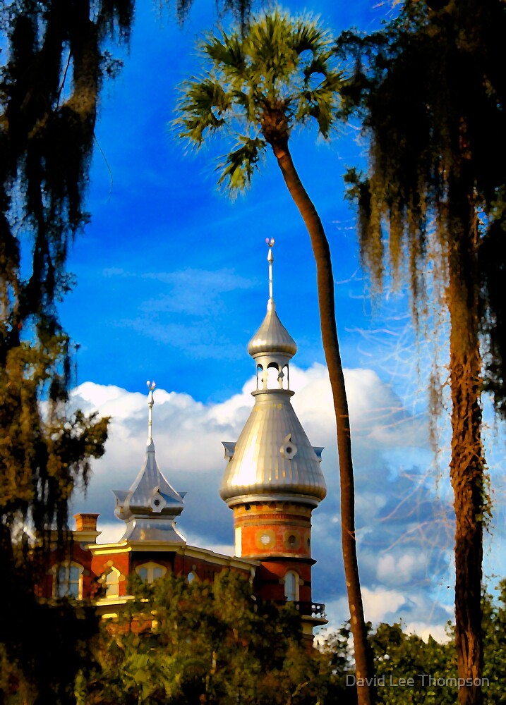 """UT Minarets""  by David Lee Thompson"