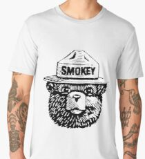 smokey the bear Men's Premium T-Shirt