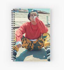 monsta-x jooheon shine forever Spiral Notebook