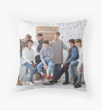 BANGTAN BOYS OT 7 Throw Pillow