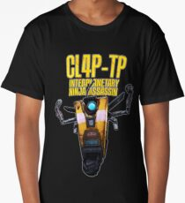 CL4P-TP INTERPLANETARY NINJA ASSASSIN (Clap-Trap) Long T-Shirt