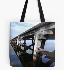 Denial Bay Wharf Tote Bag