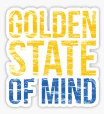 Golden State of Mind  Sticker