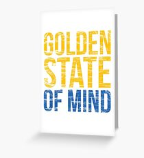 Golden State of Mind  Greeting Card