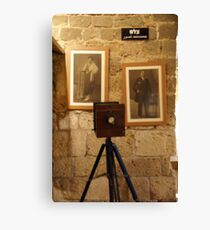 Photographer Canvas Print