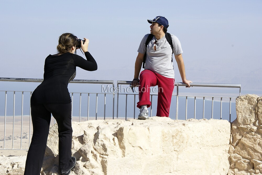 The photographer by Moshe Cohen