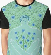 Cyanus- Cornflowers for Chloris Graphic T-Shirt