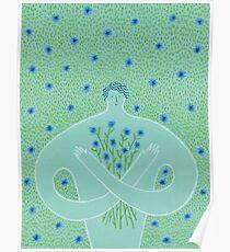 Cyanus- Cornflowers for Chloris Poster