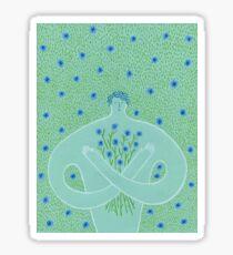 Cyanus- Cornflowers for Chloris Sticker