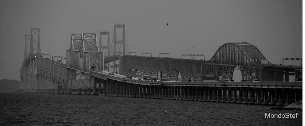 Chesapeake Bay Bridge by MondoStef