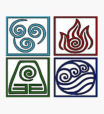 The Four Elements -Avatar Photographic Print