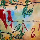 Always & Forever Love Birds by Tigger's Treasures