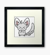 Pokemon - Minccino Framed Print