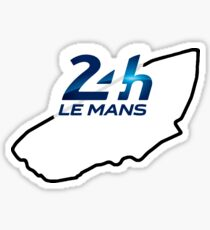 le mans stickers redbubble. Black Bedroom Furniture Sets. Home Design Ideas