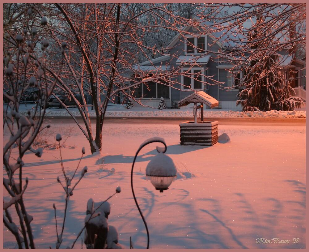 Winter Dawn by mrsbaumer