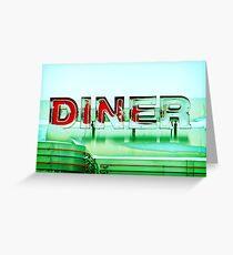 Rosie's Diner Greeting Card