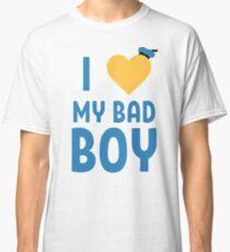 I <3 My Bad Boy Classic T-Shirt