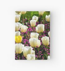 Lonely Yellow Tulip  Hardcover Journal