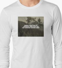 Bierstadt's Douglas Firs Long Sleeve T-Shirt