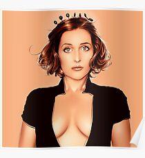 Gillian Anderson 2 Poster