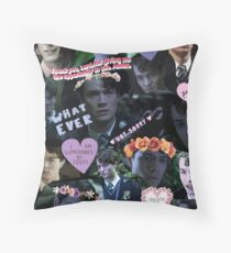 Mini Dark Lord Collage Throw Pillow
