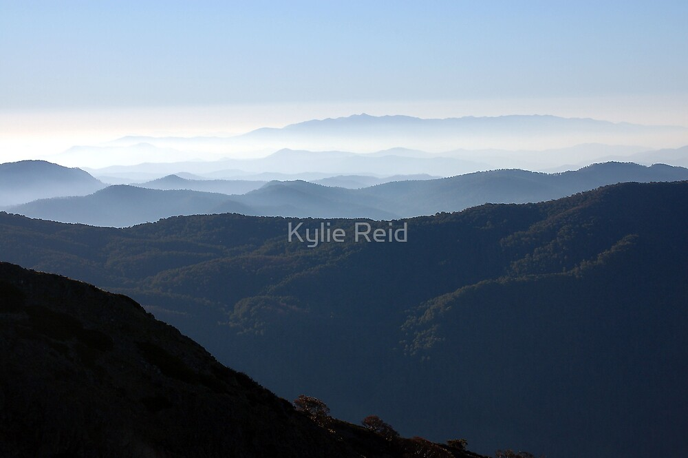 Mt Buller Out of Season by Kylie Reid